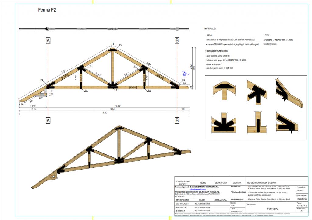 Proiectare structuri din lemn