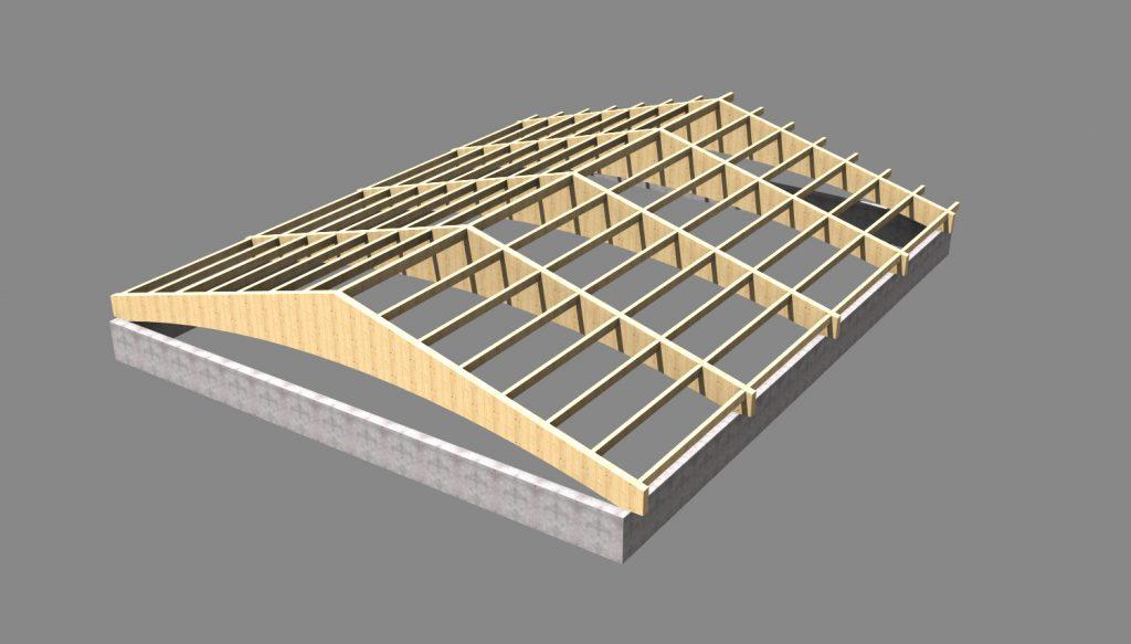 Terasa din lemn lamelar